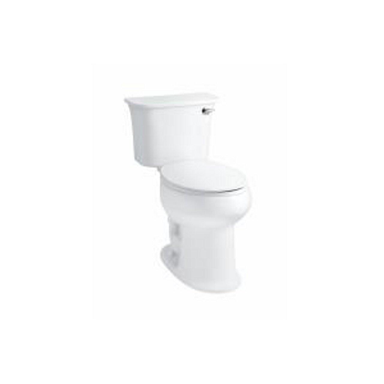 STERLING 402091-RA-0 Stinson Toilet Tank with Right Hand Flush, White KOHLER