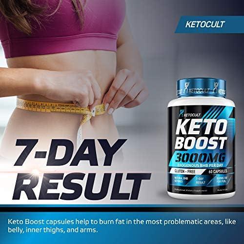 Keto Diet Pills - 5X Potent - Fat Burner 3000mg - Made in USA - Weight Loss Keto Burn - Exogenous Keto BHB Supplement for Women and Men - Keto Supplement & Metabolism Support - BHB Keto Burn 8