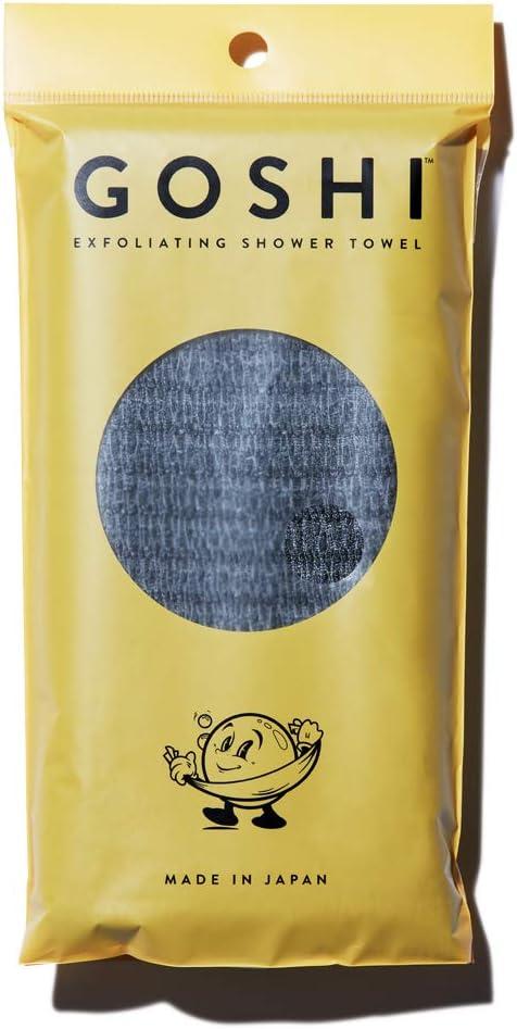 GOSHI - Exfoliating Shower Towel: Home & Kitchen