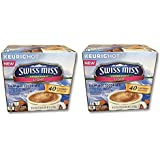 32 Count - Swiss Miss Sensible Sweets Light Hot Cocoa K-Cups for Keurig K Cup Brewers