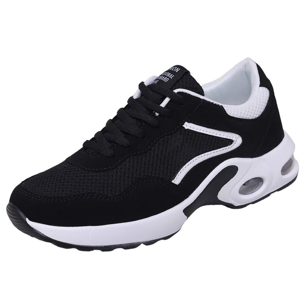 Couple's Air Shoes - Men Women Spring Buffer Cushion Lightweight Breathable Mesh Lace-up Casual Running Shoes
