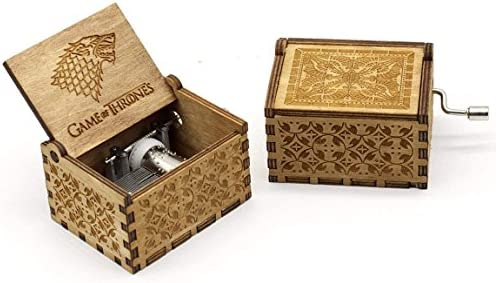 Caja de música de Juego de Tronos con mecanismo de 18 notas, caja ...