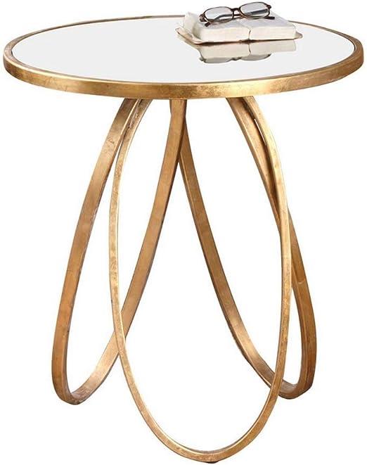 Chaoyu Table D Appoint à Roulettes Table D Appoint En Verre