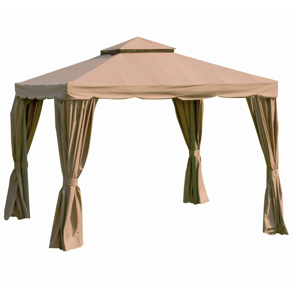 Recambio toldo pergola 4x3 cheap manomano with recambio for Gazebo 4x3 amazon