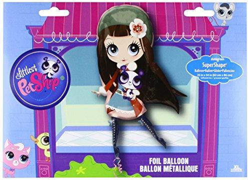 Anagram 27401 Littlest Pet Shop Girl Supershape Foil Balloon 34