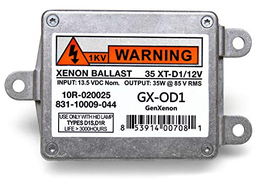 - Replacement 831-10009-044 Xenon HID Ballast for Lincoln Town Car, Navigator, Chrysler 300M Headlight Control Unit Replaces 10R-020025, 35 XT-D1/12V, 6L7Y-13C170-A