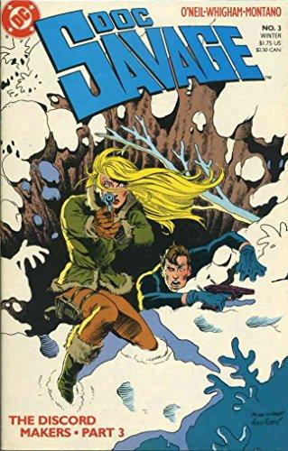 (Doc Savage (DC) #3 VF/NM ; DC comic book)