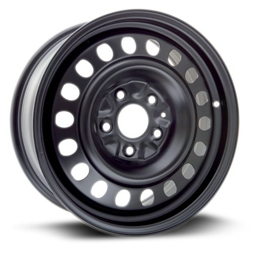 Aftermarket Steel Rim 17X7, 5X127, 71.5, +40, black finish (MULTI APPLICATION FITMENT) X47127