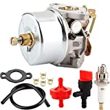 Aramox Replacement Carburetor Carb Kit 632230 632272 Fits for H30/H50/H60/HH60 Engine 5HP, 6HP