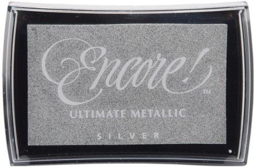 Tsukineko - Encore Ultimate Metallic Inkpad-Silver