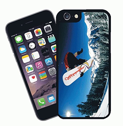 Snowboard 01 - This cover will fit Apple model iPhone 7 (not 7 plus) - By Eclipse Gift Ideas