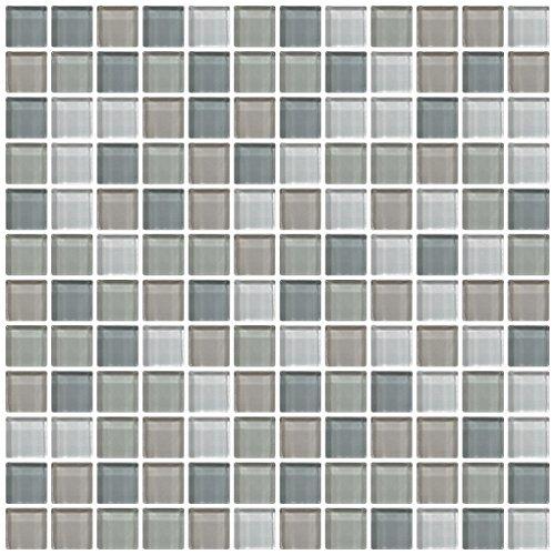 Dal-Tile 11MS1P-CW21 Color Wave Glass Tile, 1