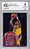 #7: 1996-97 Fleer Kobe Bryant Rookie Card Graded BCCG 9