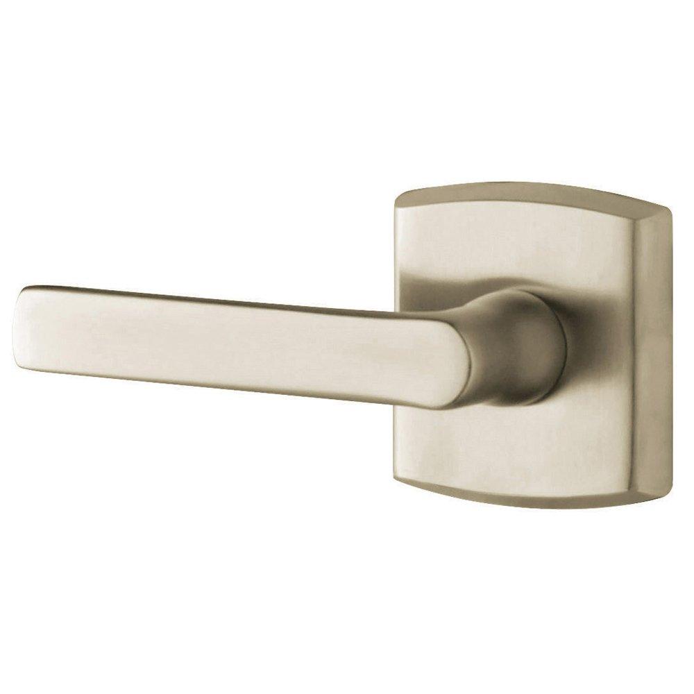 Baldwin 5485V.150.PASS Solid Brass Door Lever by Baldwin サテンニッケル サテンニッケル B006MHATAG