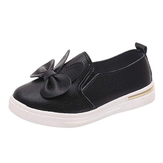 UANGER Zapatos de la Princesa del oído del Conejo del Bowknot de ...