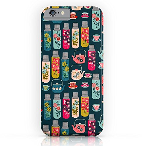Society6 Vintage Thermos - Teacups And Teapots By Andrea Lauren Slim Case iPhone 7