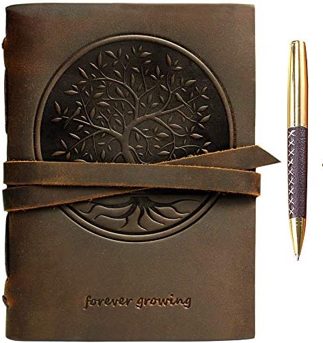 Notebook Embossed Handmade Engraved Sketchbook product image