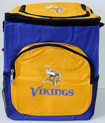 NFL Officially Licensed Minnesota Vikings 18-24 Can Cooler (Nfl 24 Can Cooler compare prices)