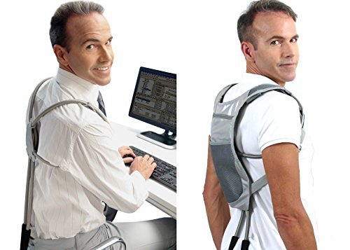 ERGO Posture Corrector by Wearable Ergonomics: A Revolutionary Brace Back Support System for Men and Women \u2013 Correction Made Simple \u0026 Easy!