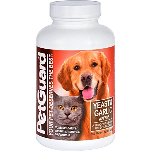 Petguard Yeast and Garlic - 160 Wafers (Pack of 3) ()