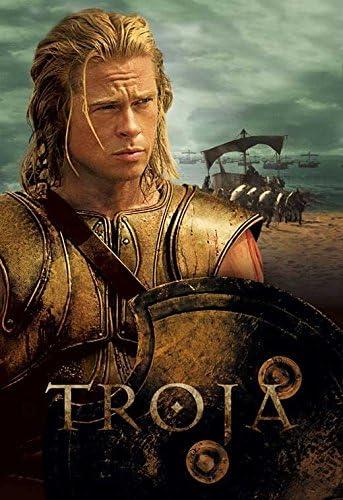 Brad Pitt A Troy Movie POSTER 11 x 17 Orlando Bloom Eric Bana USA NEW