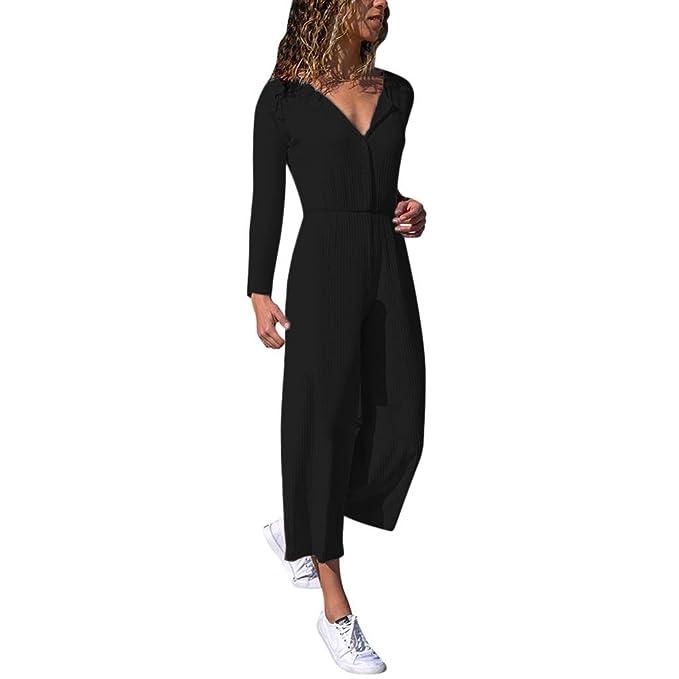 Amazon.com: Chándal de moda para mujer, negro, de manga ...