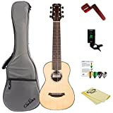 Cordoba Mini R Miniature Acoustic Nylon String Guitar with Gig Bag, Tuner, and Accessories,Mini R-KIT-1