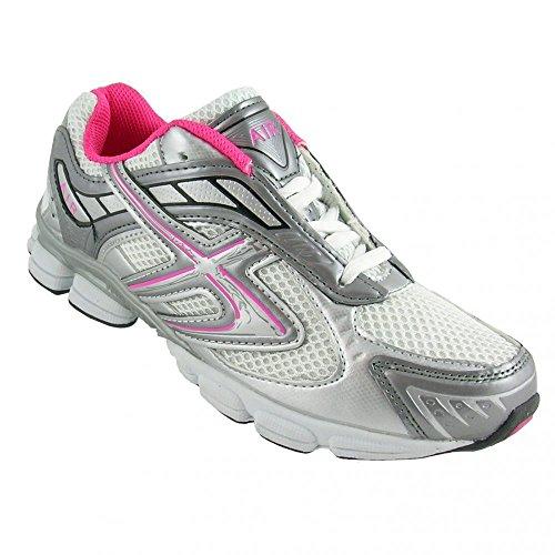Dek , Chaussures de running pour homme Rose Fuschia Pink