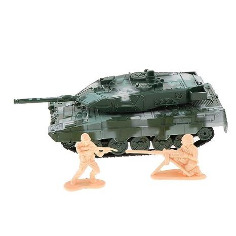 B Blesiya 1:72 Modelo de Tanque Militares de Batalla Juguetes Educativos Moldes Militares para