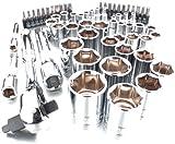 Viper Tools VT63RSS 3 in 1 Ratchet and Socket Set, 63-Piece