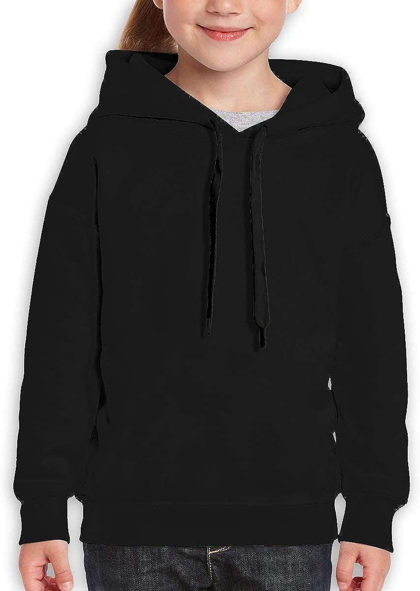 Guiping Teen Hooded Sweate Sweatshirt Black