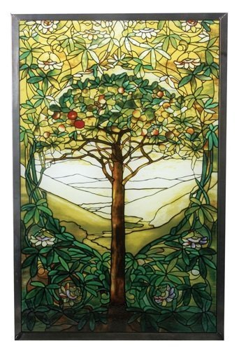 - YTC Summit 10 Inch Stained Glass Tiffany - Tree of Life Art Glass