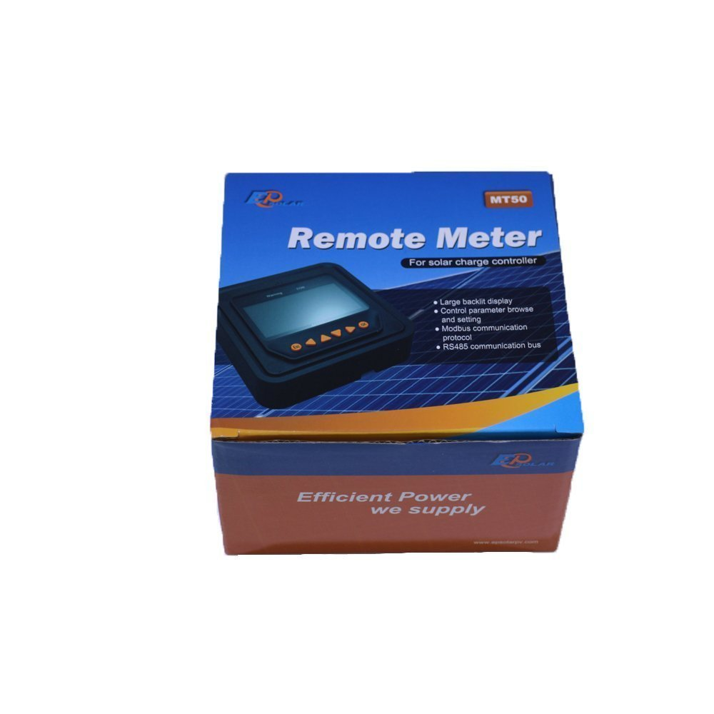 Temp.Sensor Paquet Tracer 4210AN 100 V Panneaux Solaires Alimentation Entr/ée Soutien Lithium Batterie Chargeur R/égulateur N/égatif Terre MT50 Moniteur 40A MPPT Charge Solaire Contr/ôleur