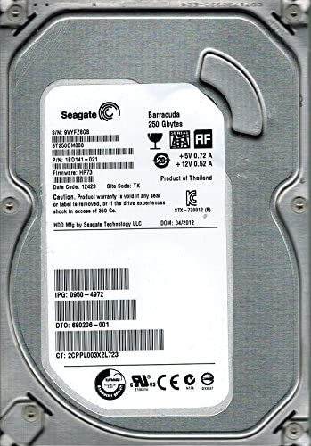 Z6E FW HP73 ST500DM002 Seagate 500GB SATA 3.5 Hard Drive PN 1BD142-021 TK