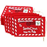 Sumind 20 Pieces Christmas Envelopes to Santa Claus Candy Bag Money Card Gift Holders