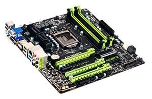 Gigabyte Intel Z77 LGA 1155 AMD CrossFireX/NVIDIA SLI DVI/HDMI/DisplayPort Dual UEFI BIOS mATX Motherboard G1.SNIPER M3