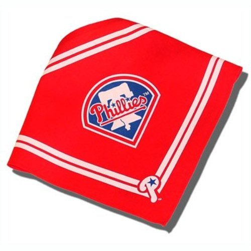 (Sporty K9 MLB Philadelphia Phillies Dog Bandana, Small)