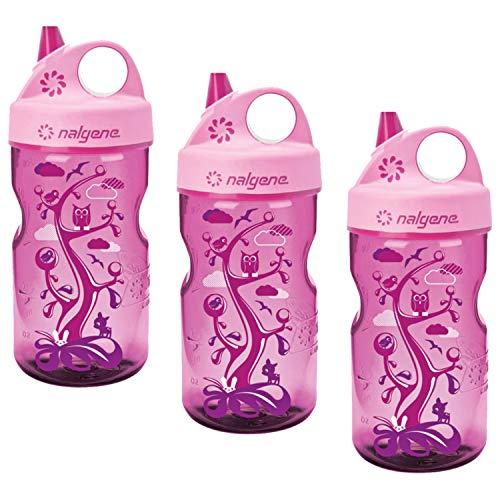 Nalgene Grip-n-Gulp Everyday Kids 12oz Water Bottle - 3 Pack