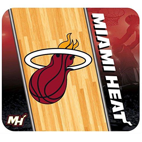 NBA Miami Heat Team Logo Neoprene Mouse Pad by Hunter