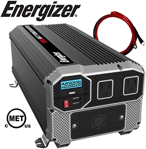 ENERGIZER Inverter Outlets Automotive Converts