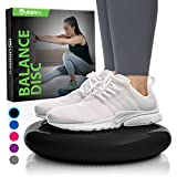 Product review for Balance Disc - Stability Wobble Cushion - Lumbar Support For Desk and Office Chair, Lower Back Pain Relief and Support - Kid's Wiggle Seat For Classrooms - Home Gym Workout Equipment - Pump Included