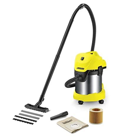 0fa6f46f0f2 Karcher Wd 3 Premium Wet And Dry Vacuum Cleaner -Yellow & Black ...