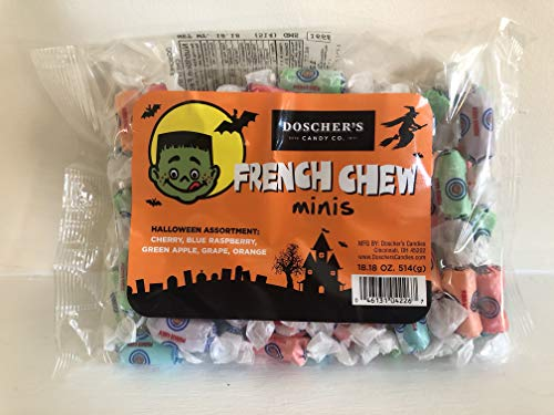 Doscher's French Chew Taffy Halloween Minis (Bulk Bag)]()