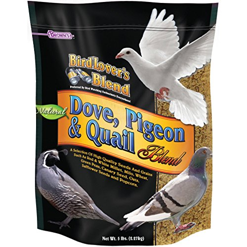 F.M. Brown's Bird Lover's Blend Dove Food for Pets, 5-Pound