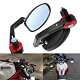 "Best View Mirrors For Honda Motorcycles - ViZe 7/8"" 22mm Bar End Mirrors For Motorcycle Review"