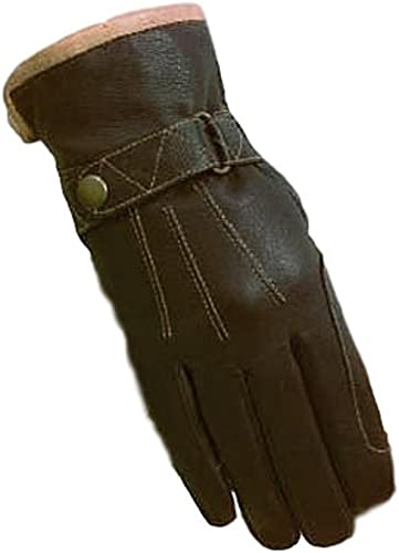 Unisex Waterproof Winter Horse Riding Gloves (Leather) [SSG] Picture