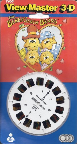 Berenstein Bears View-Master 3 Reel Set - 21 3d Images by View Master