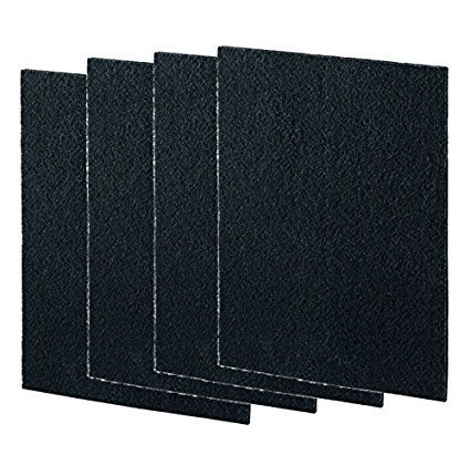 Nispira Activated Charcoal Pre Filter Replacement Compatible with Coway Air Purifier AP-1012GH, 4 Sheet