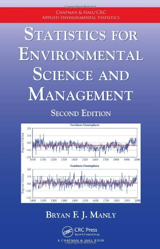 Statistics for Environmental Science and Management, Second Edition (Chapman & Hall/CRC Applied Environmental Statistics) -  Manly, Bryan F. J., 2nd Edition, Hardcover