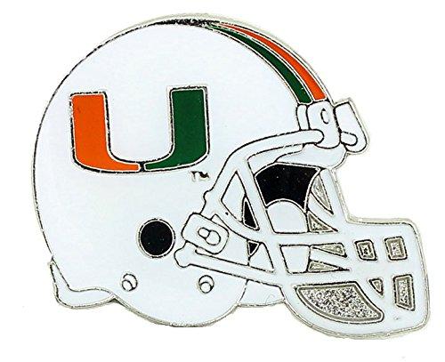 NCAA Miami Hurricanes Helmet Pin